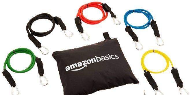 AmazonBasics Resistance Band Set-sale-01