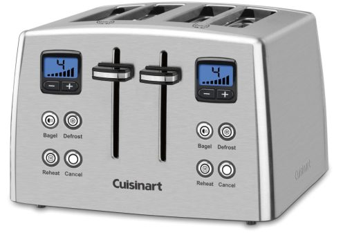 Cuisinart Countdown 4-Slice Stainless Steel Toaster (CPT-435)-sale-02