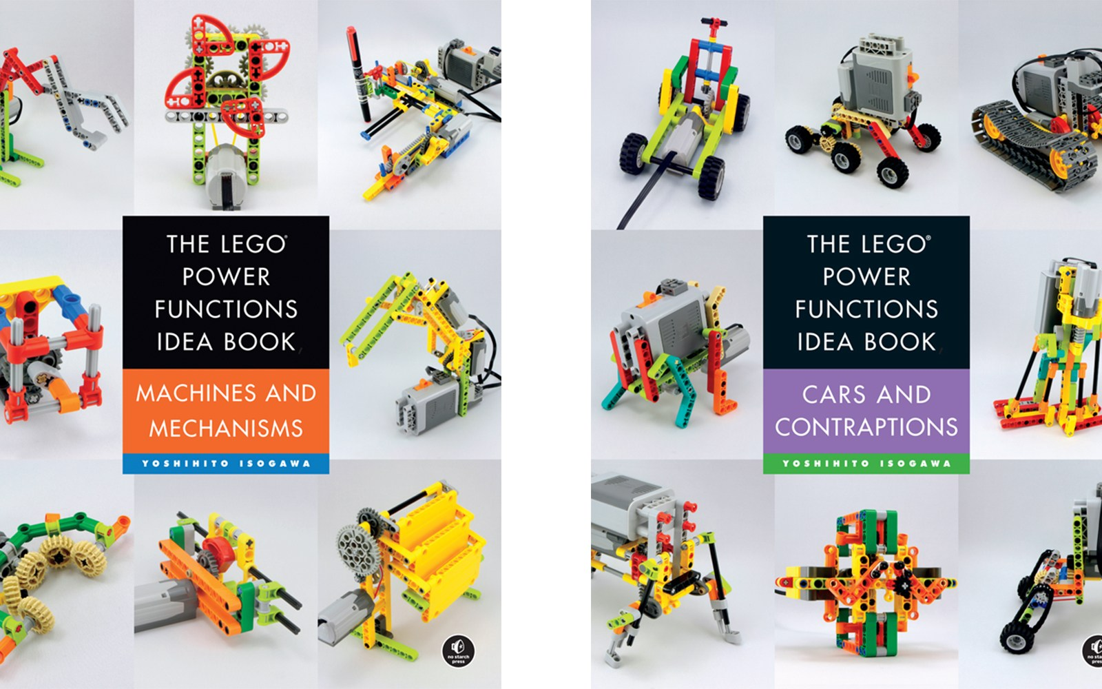 The LEGO Power Functions Idea Book teaches you how to build cars, contraptions and more