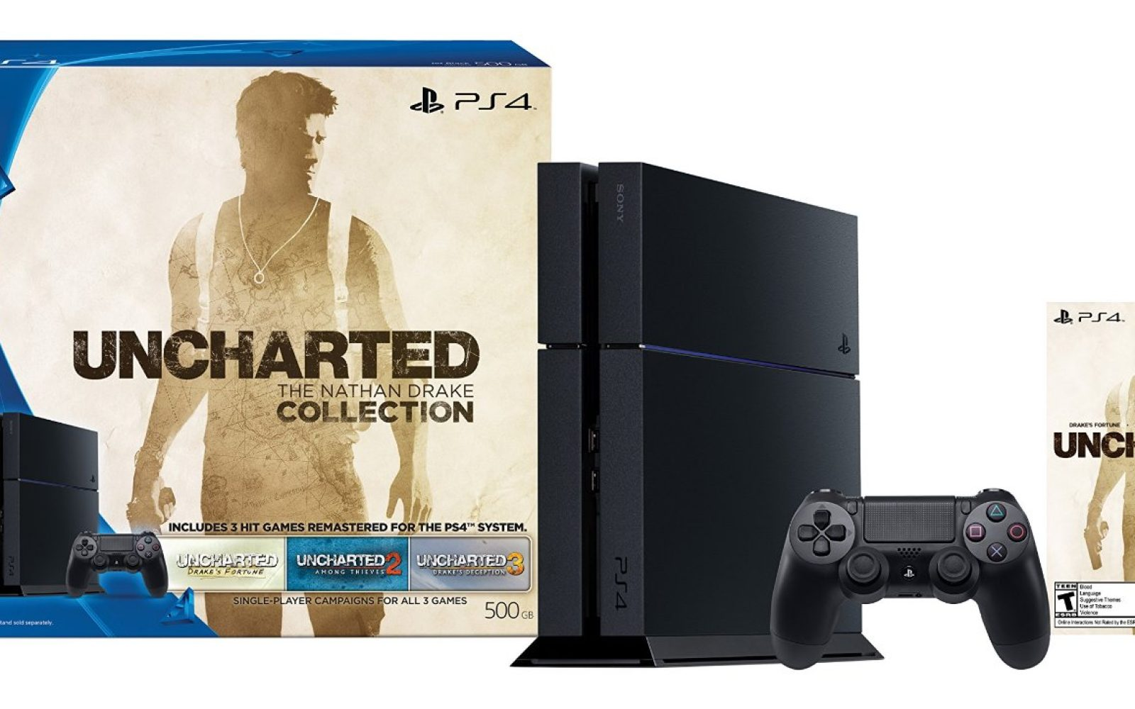 Sony Playstation 4 9to5toys Ps4 500gb Dvd Fifa 2015 Black Friday Console Deals Xbox One Gears Of War 60 Gift Card 300 Bundles Under Wii U 3ds More
