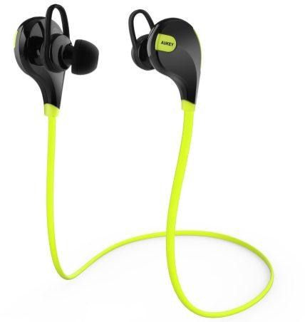 Aukey Bluetooth 4.1 Wireless Sport Headphone + Sweatproof Sport Armband-sale-02