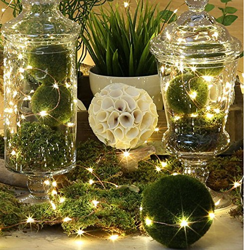 Copper Wire Starry String Light w: Timer Battery-2