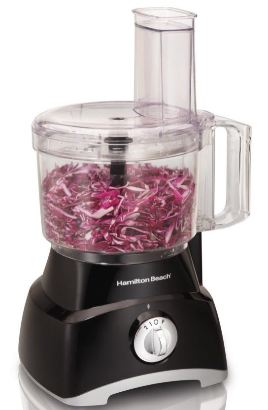 Hamilton Beach 8-Cup Food Processor in black (70740)-sale-01