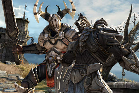 Infinity Blade trilogy-1