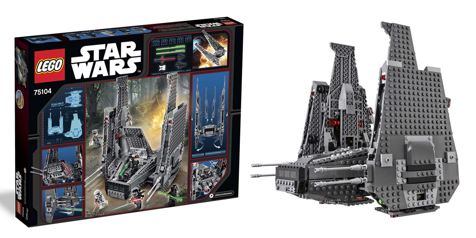 Star Wars Lego Sets Kylo Rens Command Shuttle 99 Reg 120