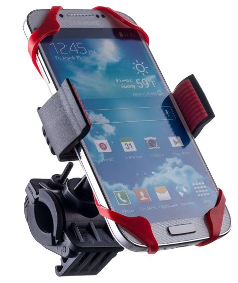 Liger Universal %22SuperGrip%22 Bike Mount Handlebar Holder for iPhone 6S, Galaxy devices-2