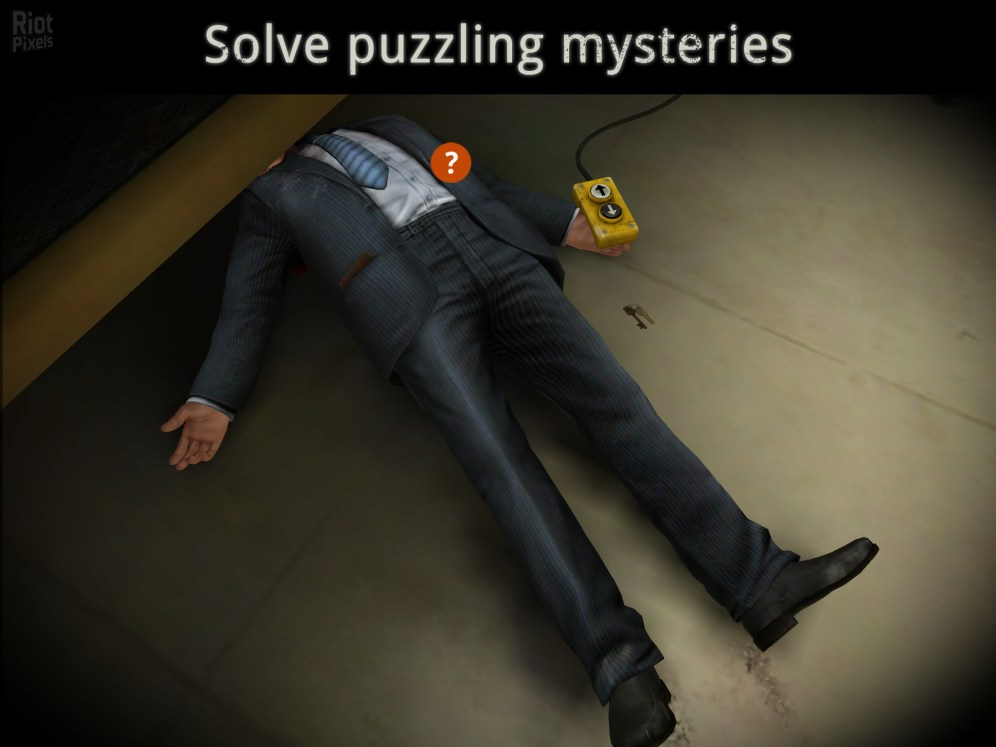 The Trace- Murder Mystery Game-1