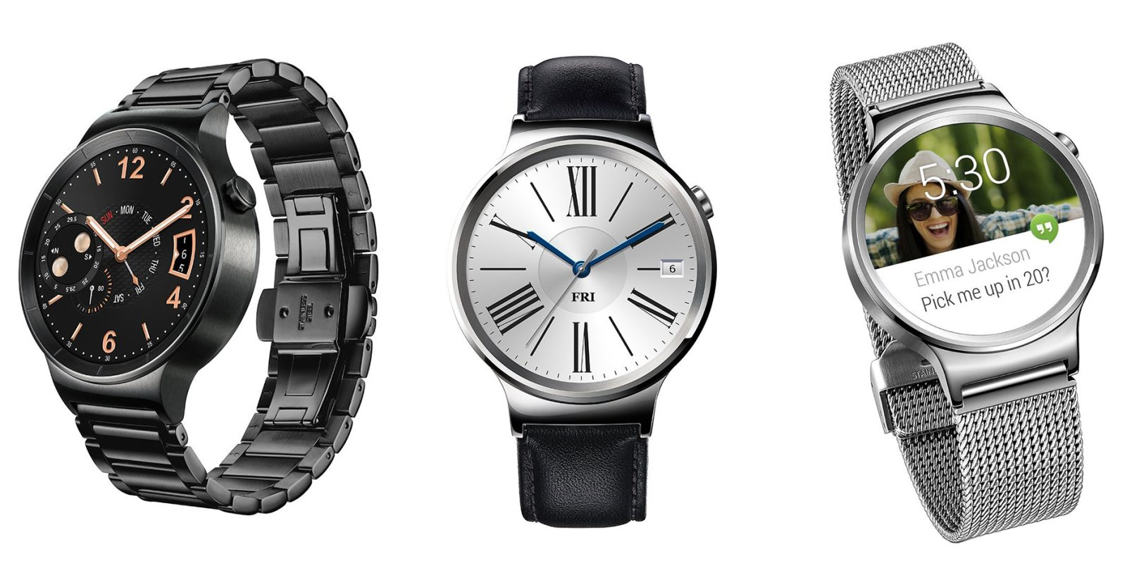 Save $50 on Huawei Watches for iOS/Android, prices start at