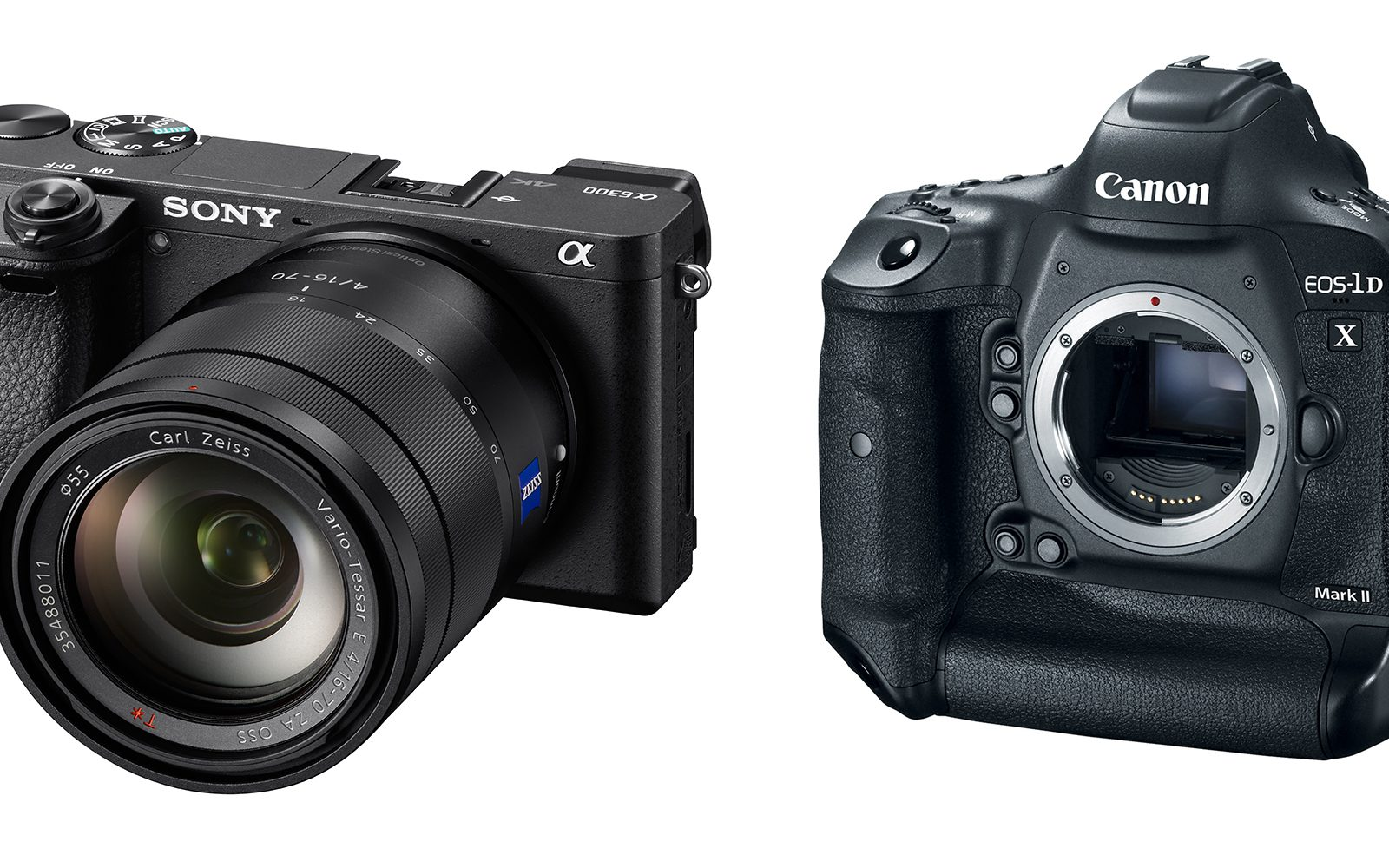 Sony and Canon introduce new 4K digital cameras with two very different price tags