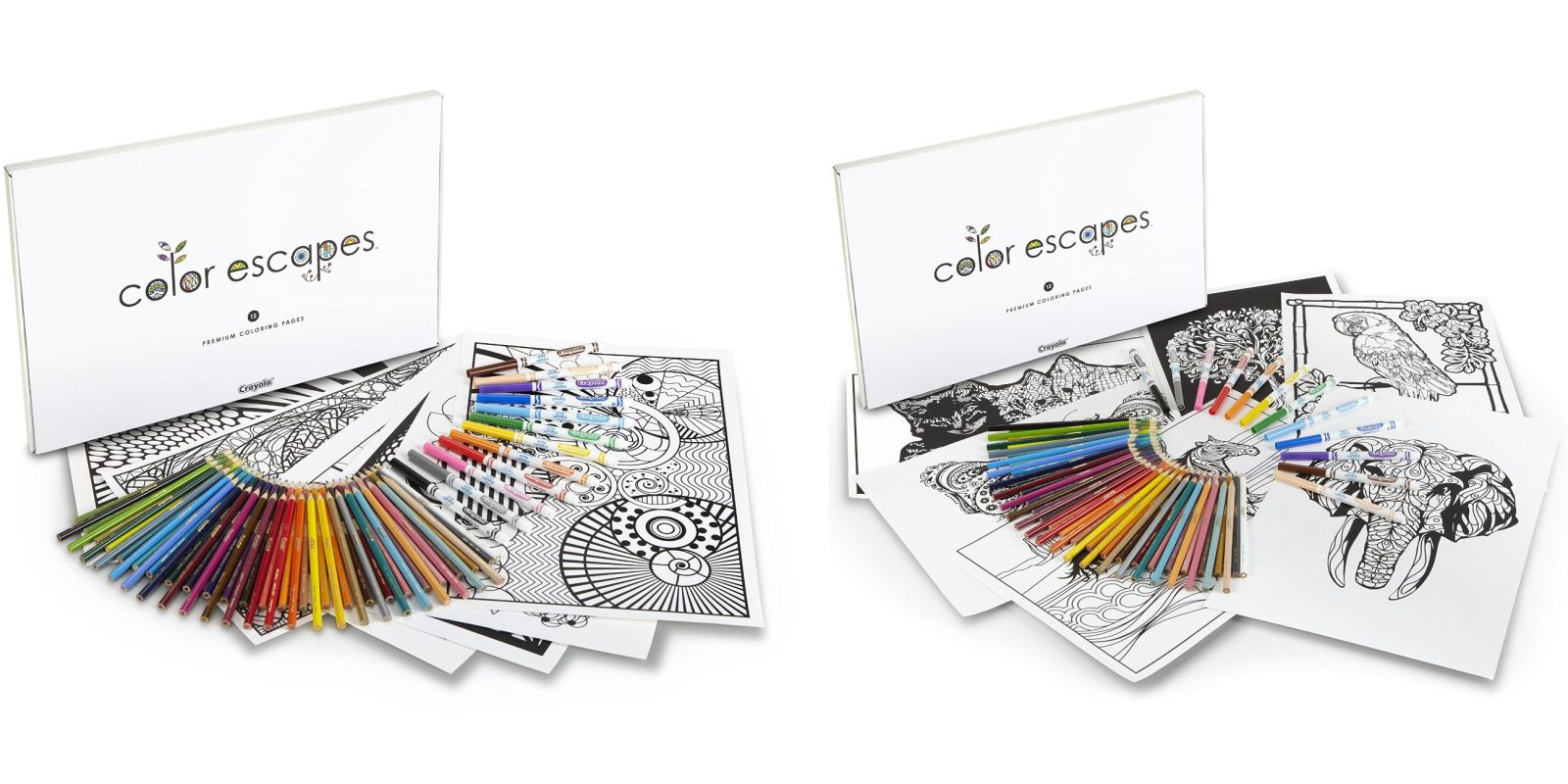 Crayola Products Up To 40 Off Adult Coloring Bookspencil Kit 15