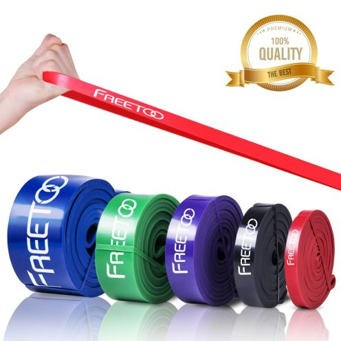 Freetoo Best Workout Rubber Band Resistance Bands set-01