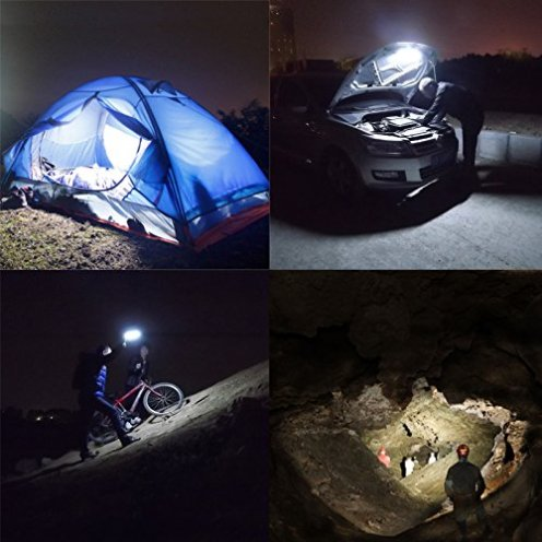 GOOLOO Aluminum Body Portable Camping:Outdoors LED Work light