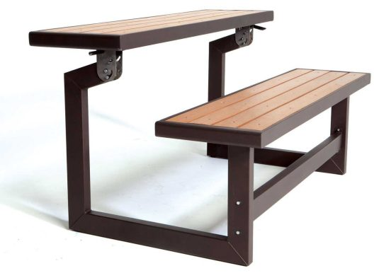 Lifetime Convertible Bench:Table-1