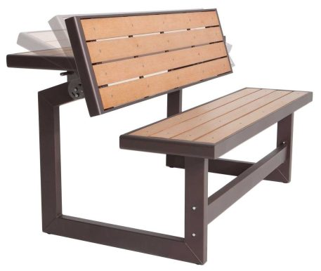 Lifetime Convertible Bench:Table-2