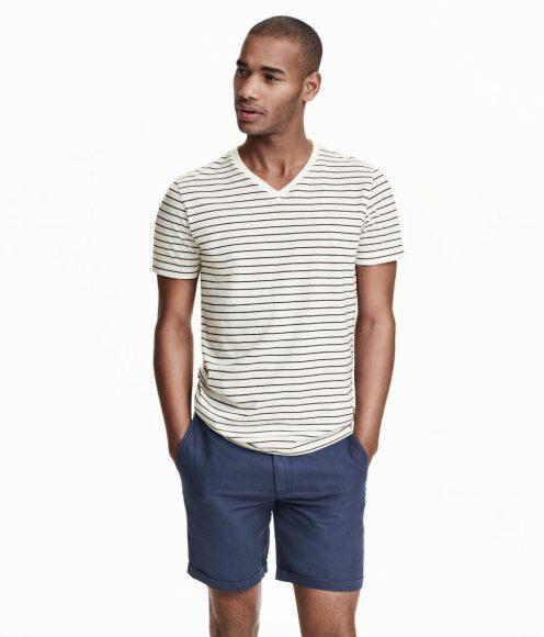 H&M conscious vneck tshirt