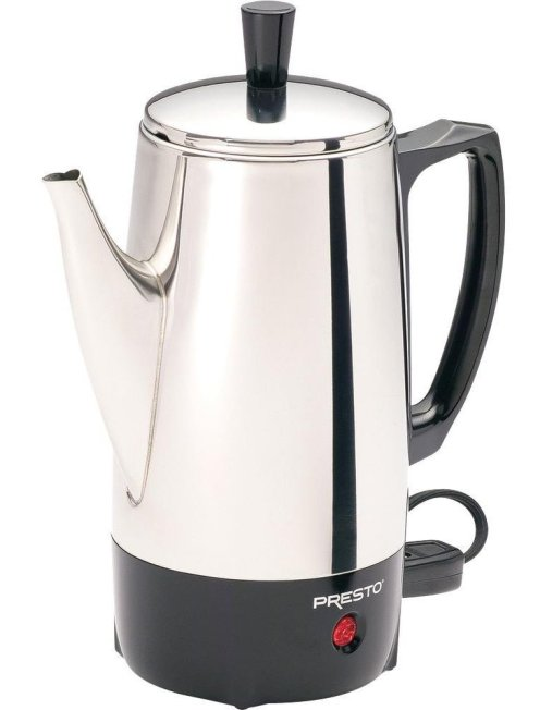 Presto 6-Cup Stainless-Steel Coffee Percolator (02822)-1 copy