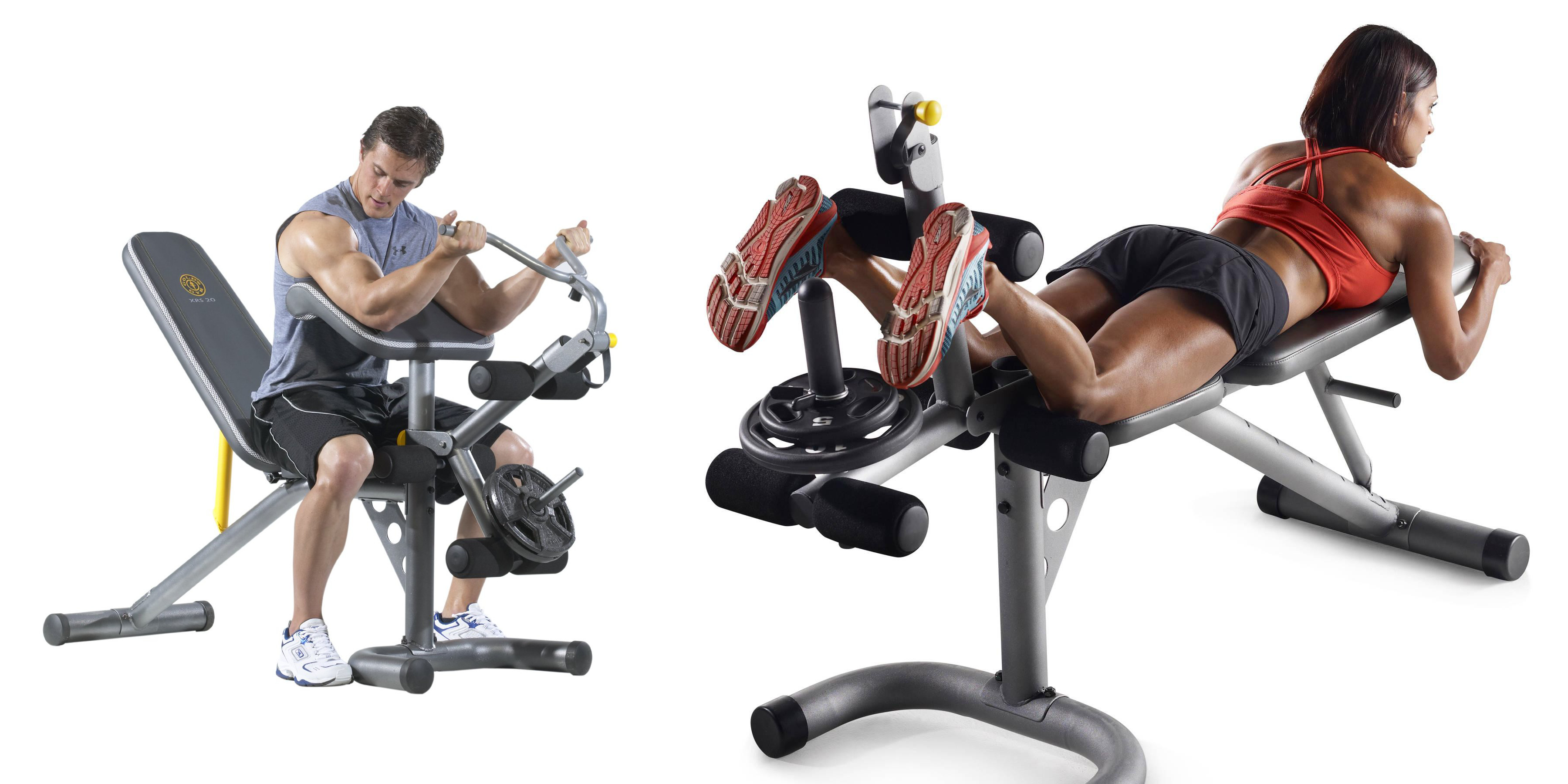 Gold s gym xrs olympic multi workout bench for shipped reg
