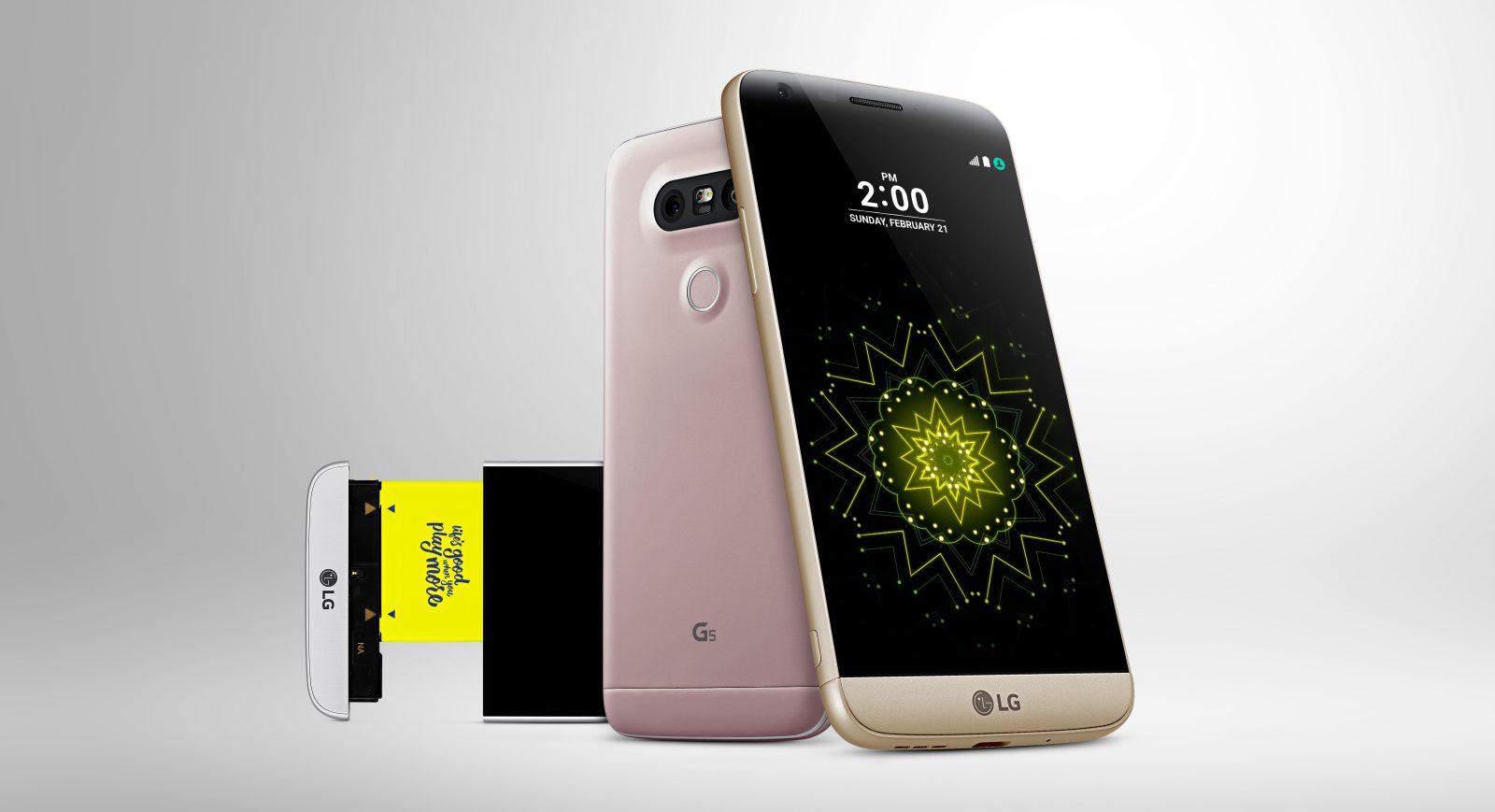 LG G5 Smartphone w/ 32GB flash GSM 4G LTE (factory unlocked