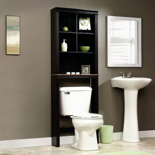 sauder bath peppercorn collection space saver