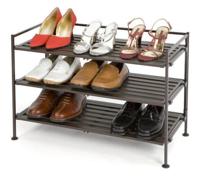 seville classics shoe rack