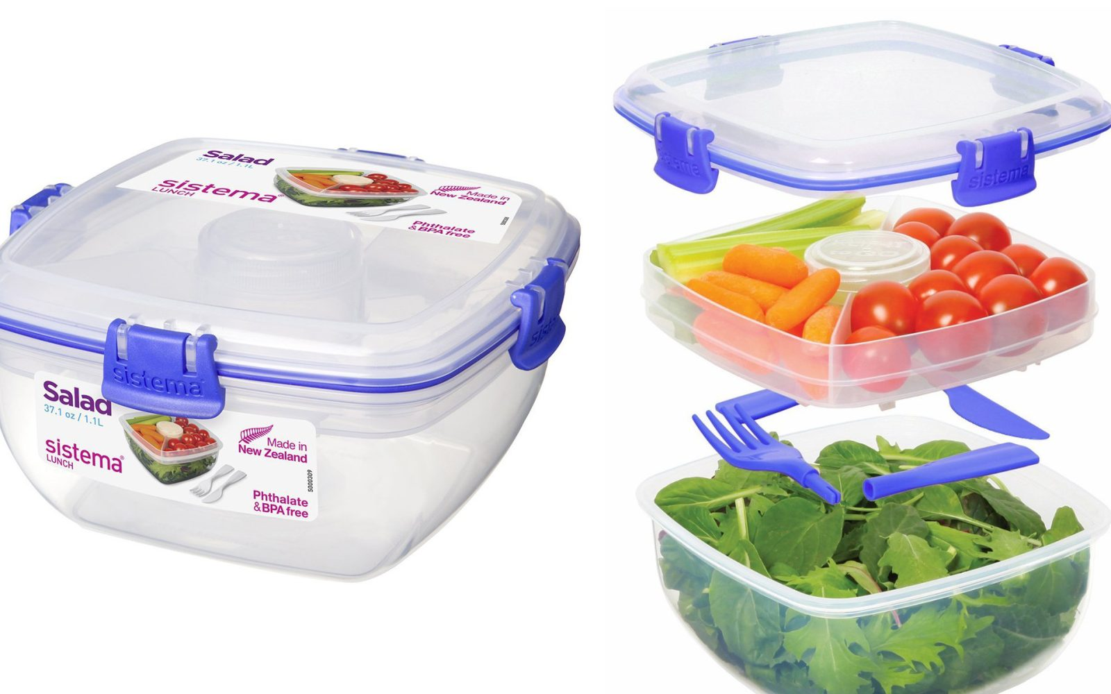 Sistema Klip It Lunch Container 7 Prime Shipped Reg 12 Food Storage Sets From 16 More