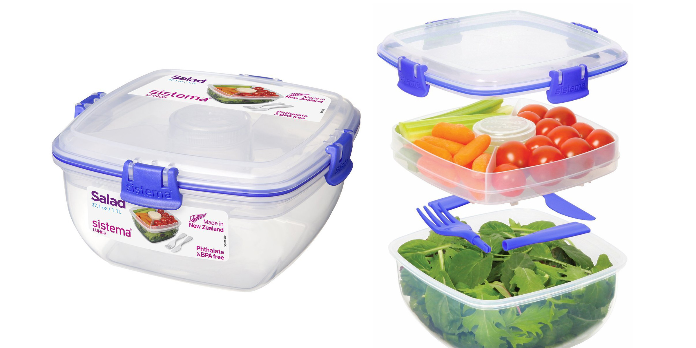Sistema Klip It Lunch Container $7 Prime Shipped (Reg. $12) + Food Storage  Sets From $16, More