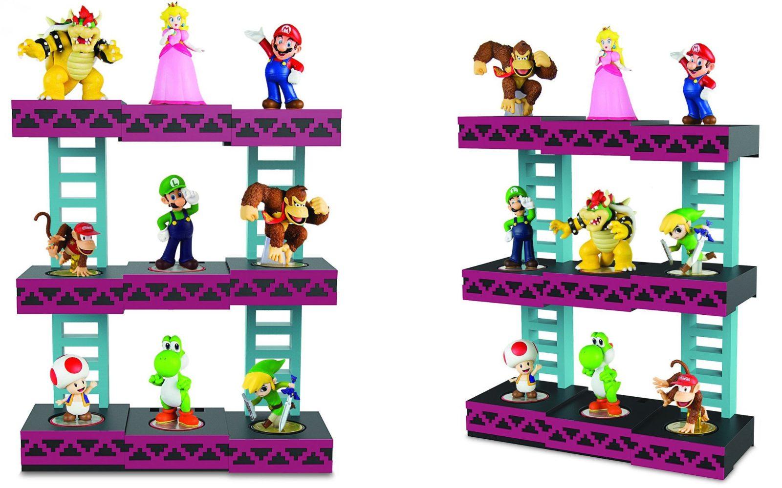 These new Donkey Kong, Zelda and 8-bit Mario Bros-themed amiibo