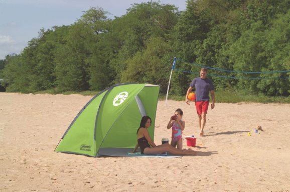 coleman road trip beach shade tent