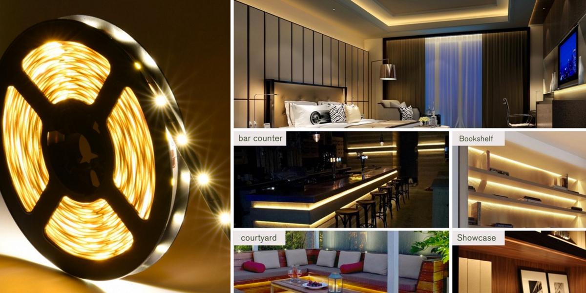 Oak Leaf Flexible LED Strip Lights for Lighting or Decoration $5 Prime shipped (Reg. $8)