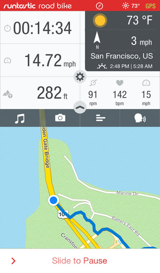 Road Bike GPS Cycling App-2