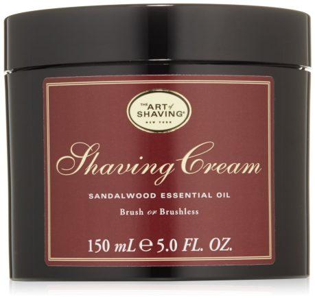 the art of shaving shaving sandalwood cream