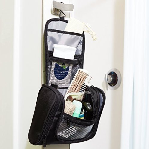 AmazonBasics Hanging Toiletry Kit-2