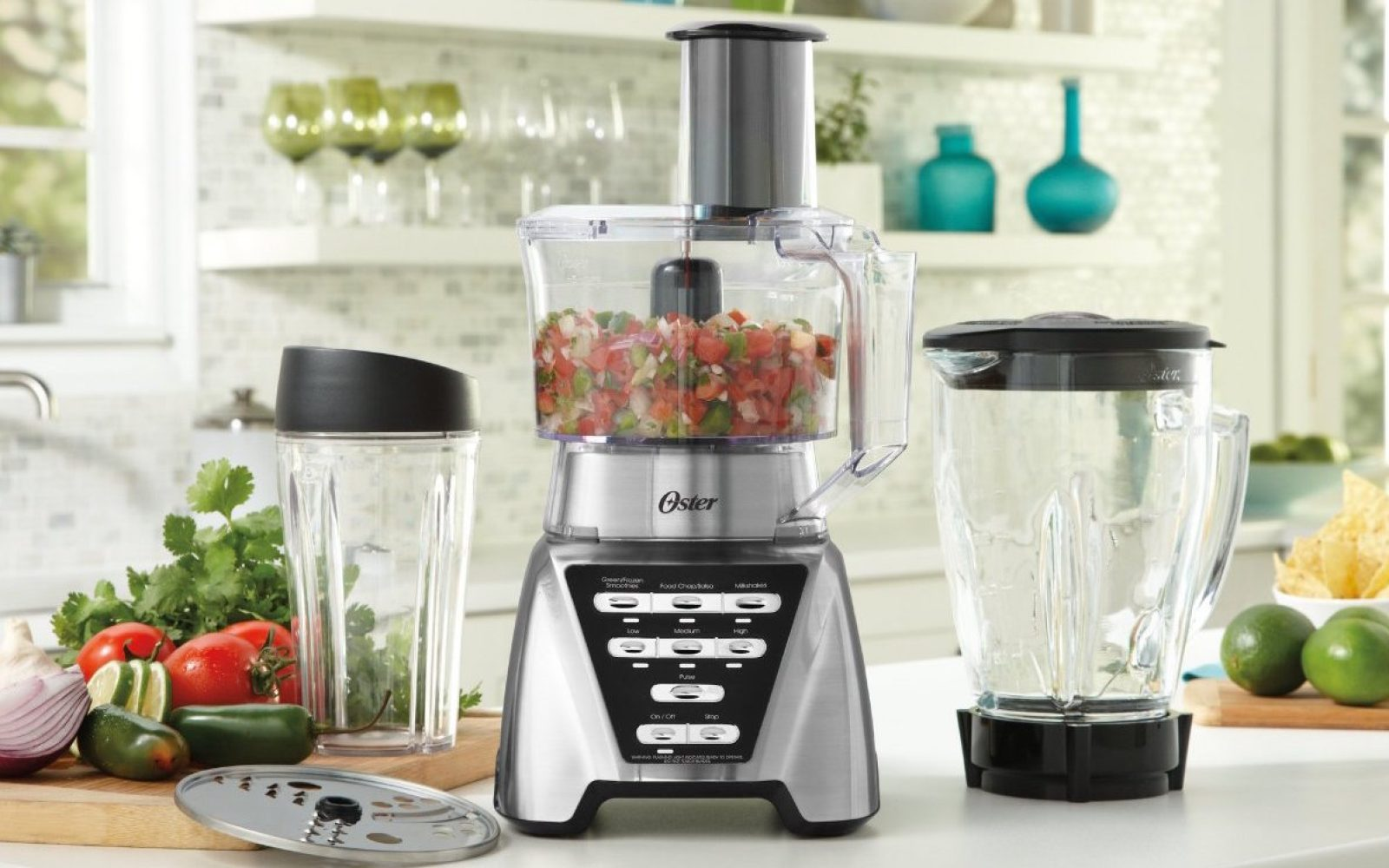 This Oster Pro Blender Bundle Comes W A Food Processor