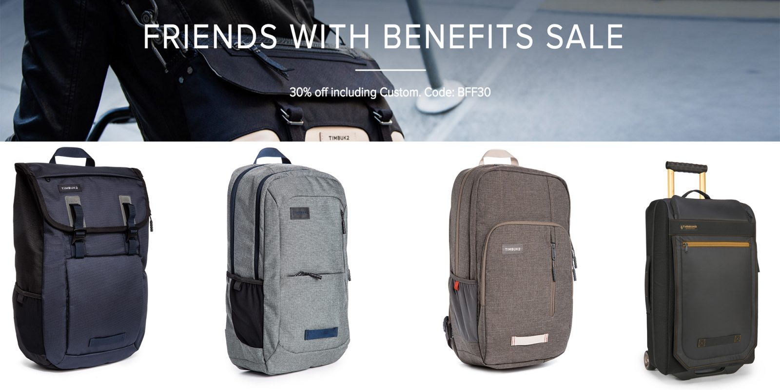 87c82f6b61 Timbuk2 s Friends w  Benefits Sale brings 30% off top styles  messenger bags  from  44