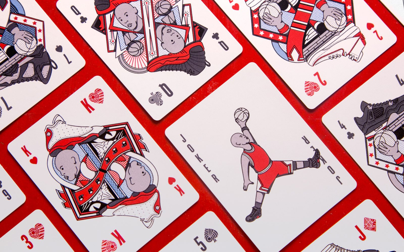 a78b20be18d Flight Cards takes every Jordan shoe release and recreates it on this beautiful  set of poker cards