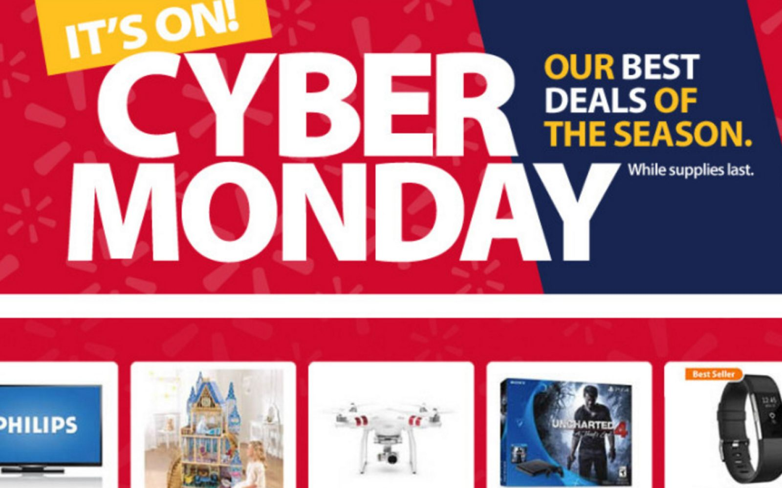 9ad27cc56004 Walmart unveils its plans for Cyber Week 2016: Google Home $99, VIZIO  50-inch 4K UHDTV w/ SmartCast $380, more