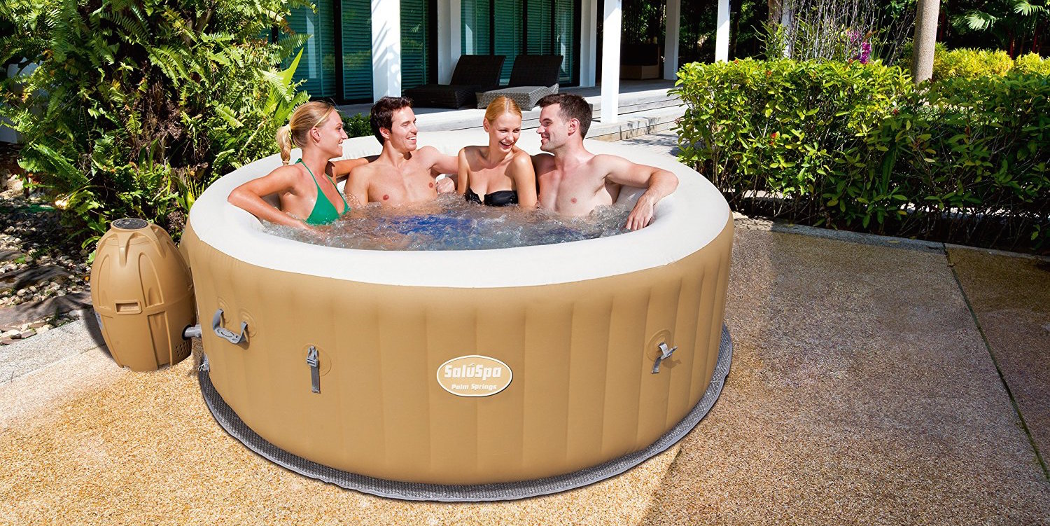 The best-selling Palm Springs Inflatable 6-Person Hot Tub is getting ...