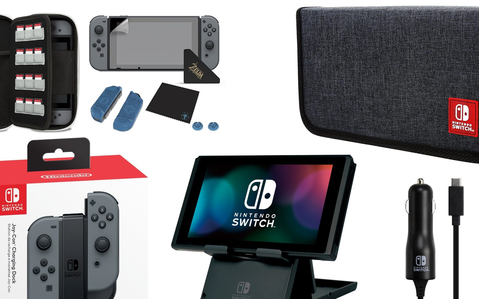 detailed look 6b28c 996f4 The Best Nintendo Switch Accessories: Controller Chargers, Console ...