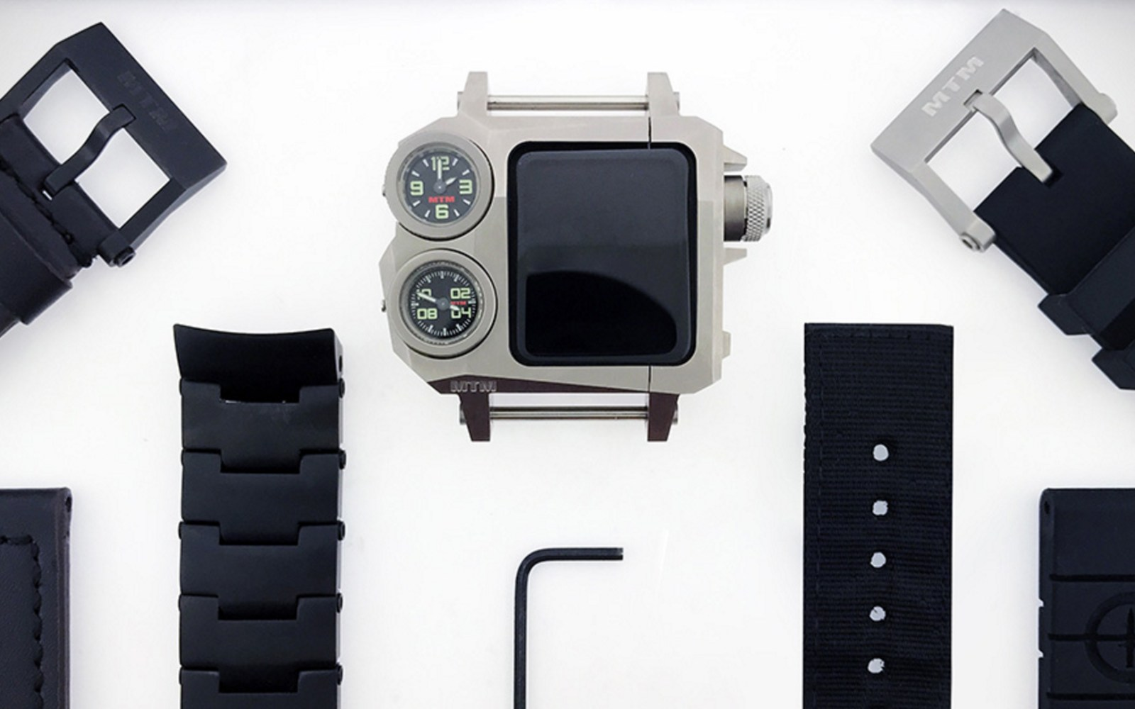 Mtm Status Is A Rugged Aluminum Apple Watch Case With
