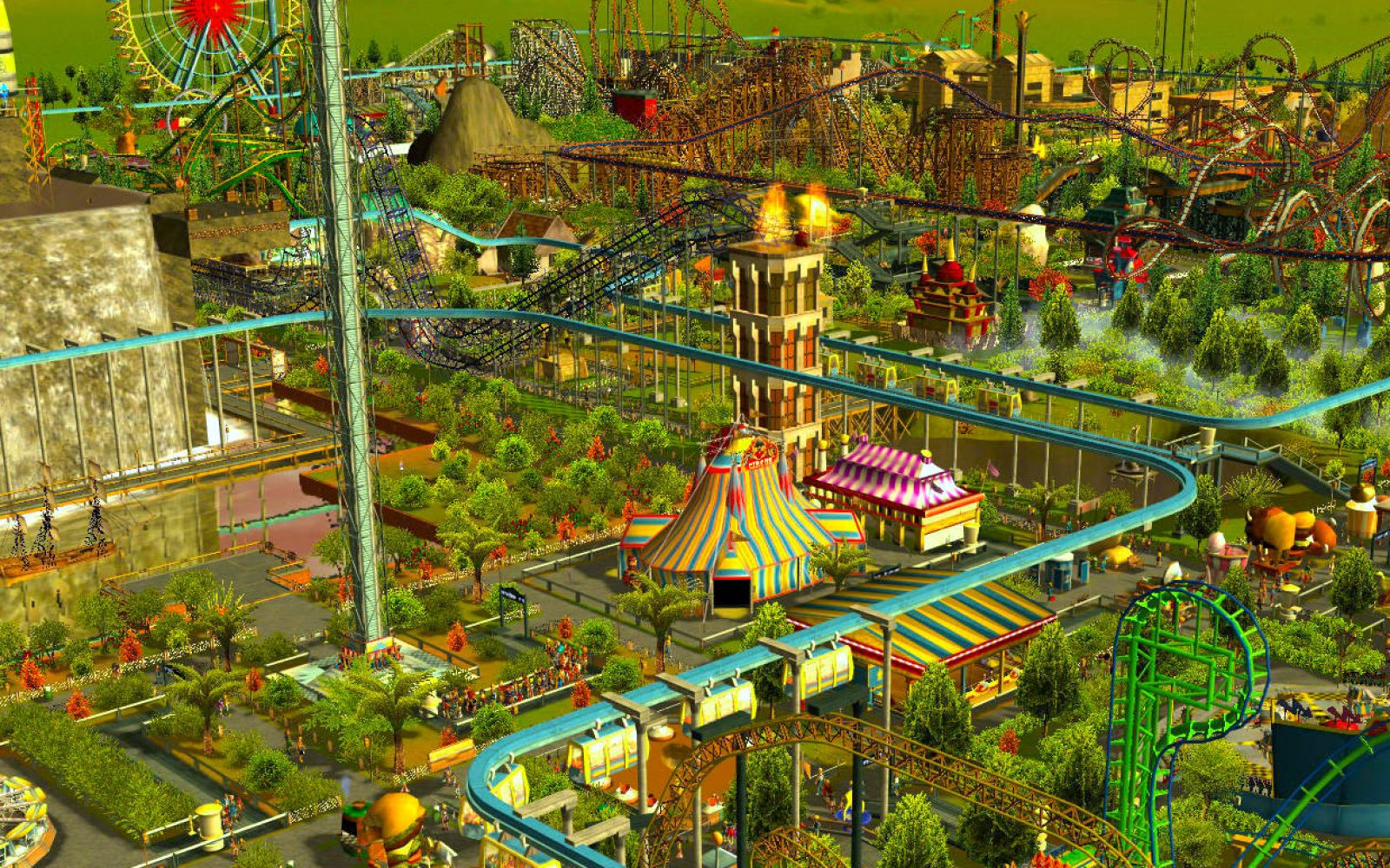 RollerCoaster Tycoon 3 drops to its lowest price ever on the