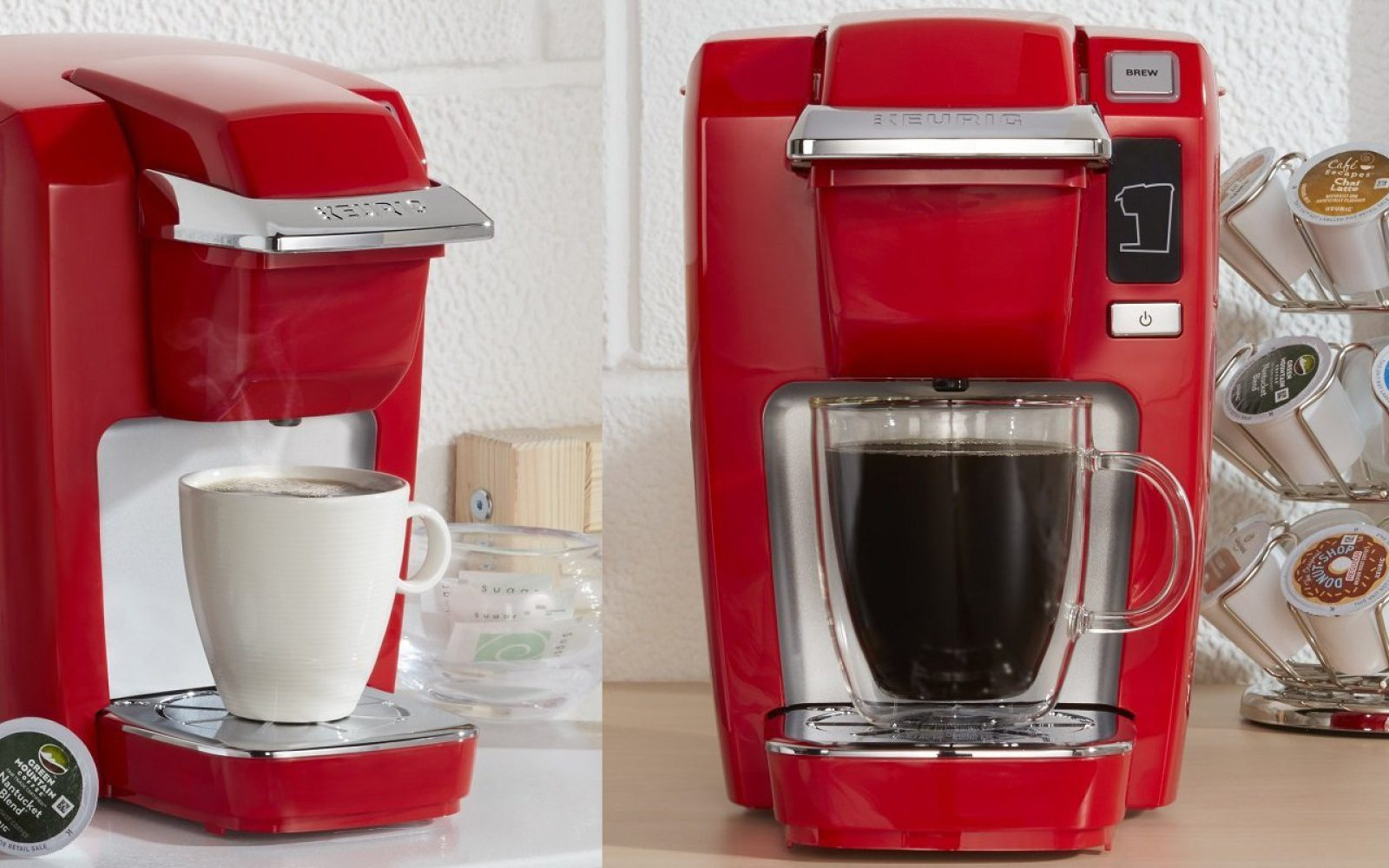 Keurigs K15 Single Serve Compact K Cup Coffee Maker Is Down To 50