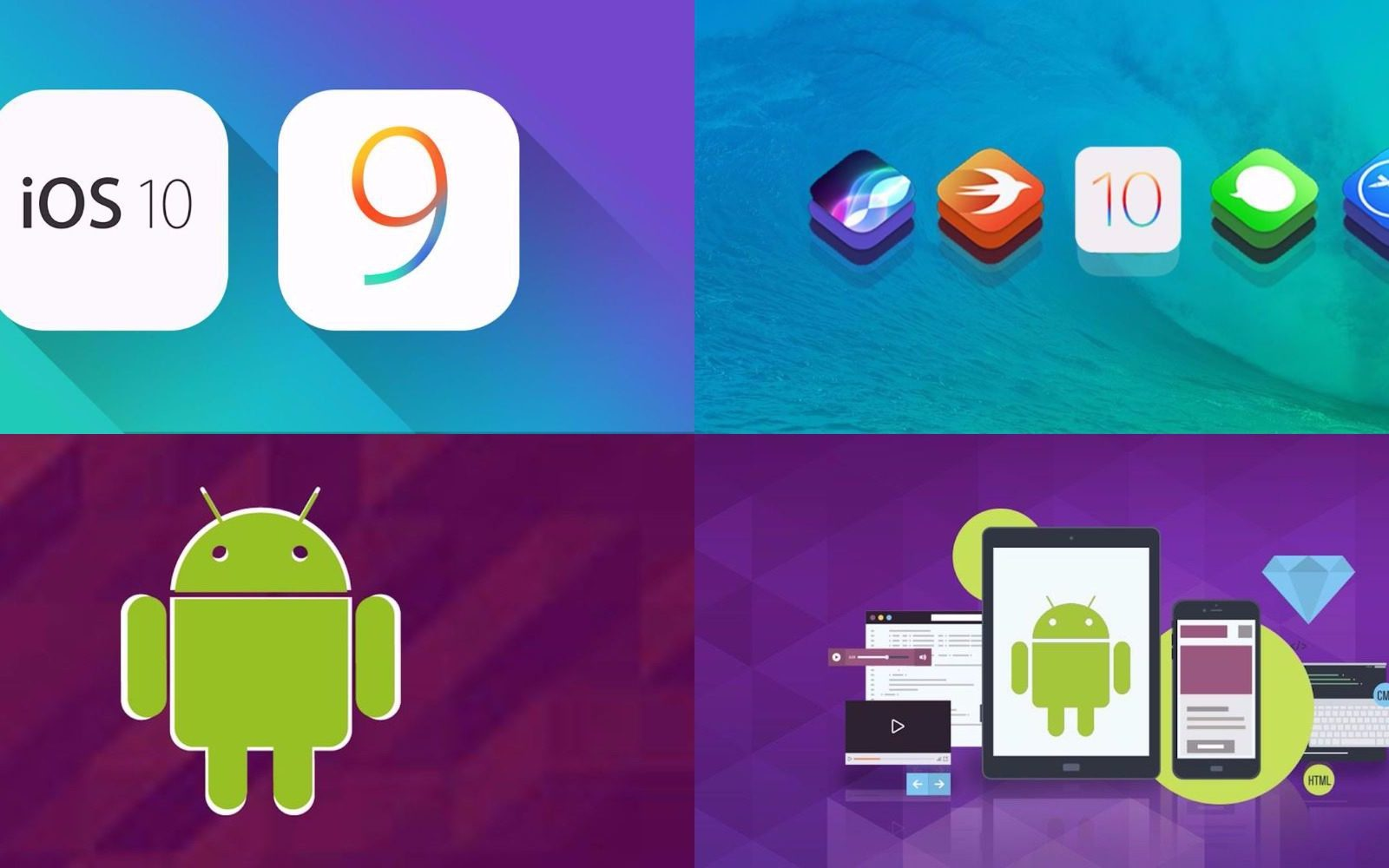 Learn to build an iOS or Android app w/ these courses from $17