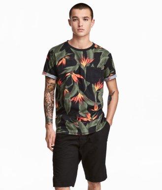 H&M Patterend T-Shirt