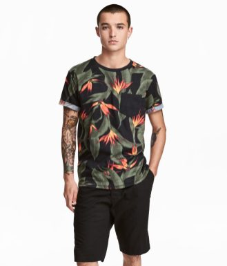 H&M Patterend T-Shirt