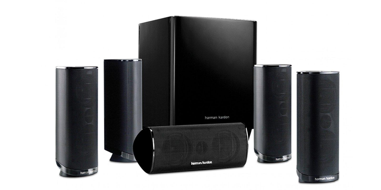 Harman Kardon 5 1 Ch Home Theater Speaker System 140
