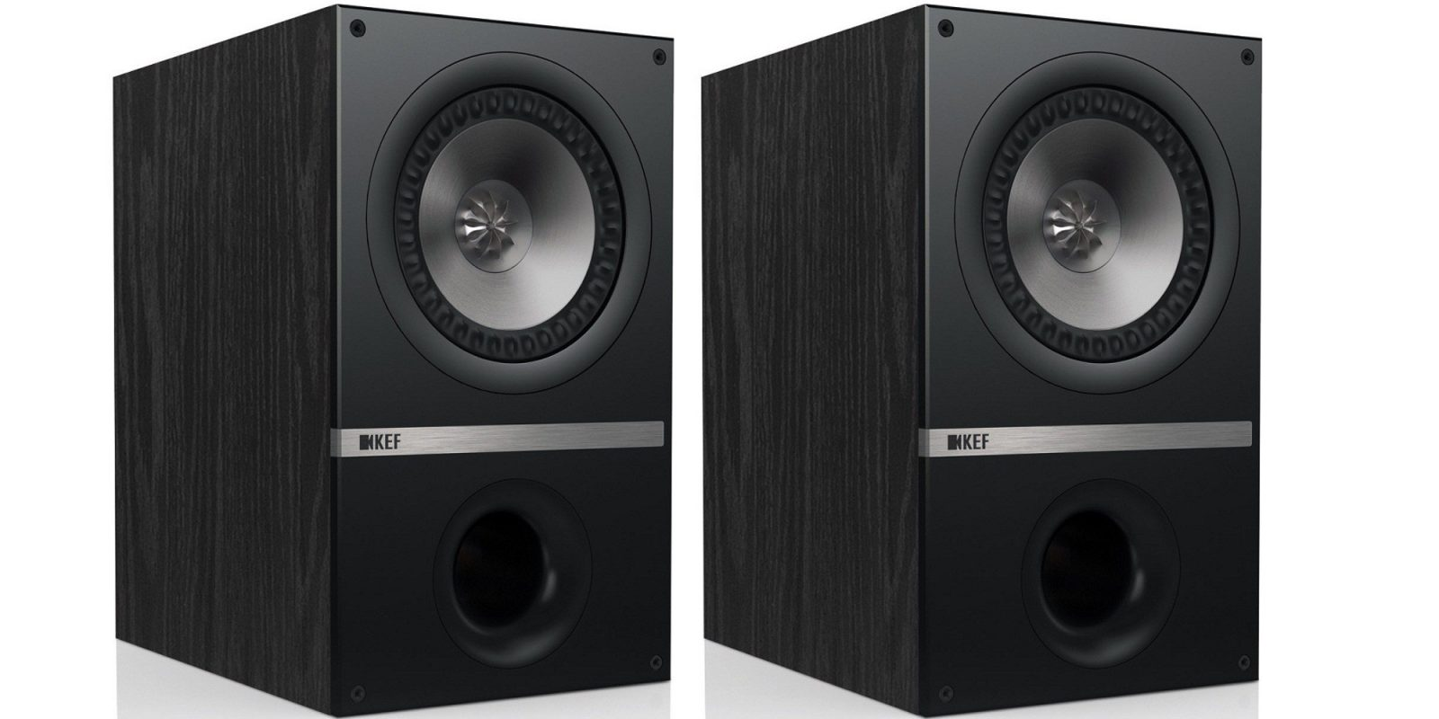 KEF Q100 Bookshelf Loudspeakers For 291 Shipped Reg 450