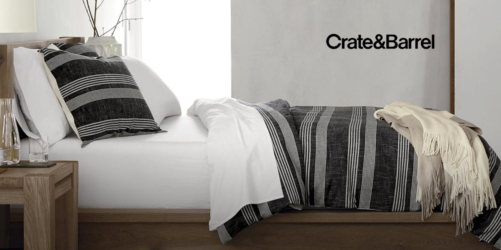 crate barrel takes 20 off bedding mattresses box springs and more - Crate And Barrel Bedding