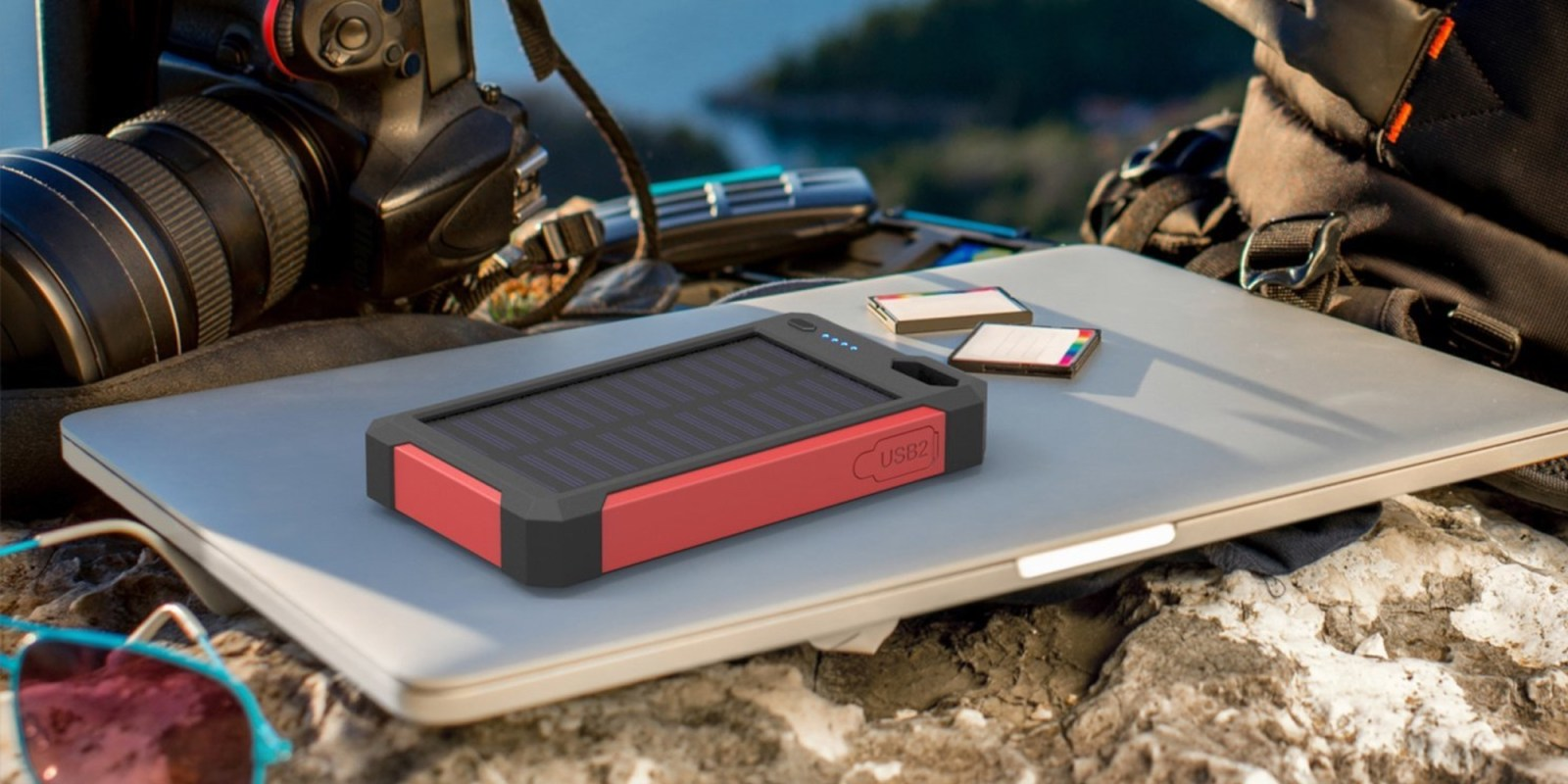 iClever 10,000mAh Solar Power Bank $15 Prime shipped, more
