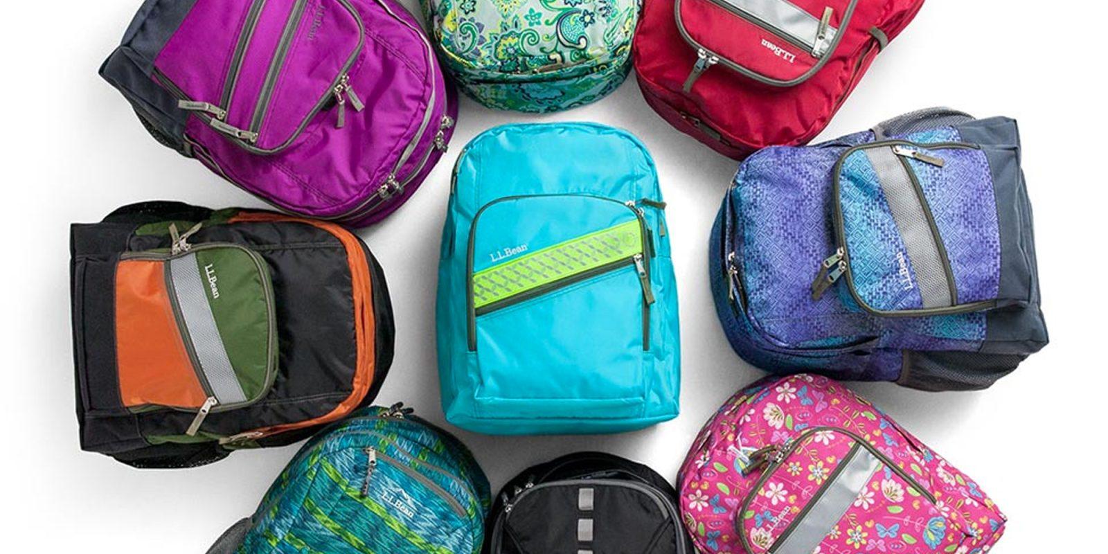 0415eddcec L.L. Bean Back-to-School Sale 20% off backpacks