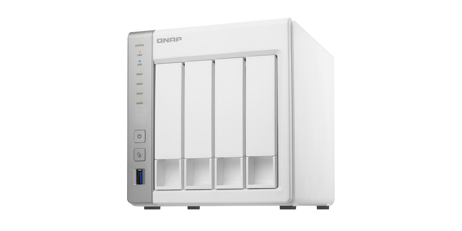 QNAP's 4-Bay NAS with AirPlay and Chromecast support drops